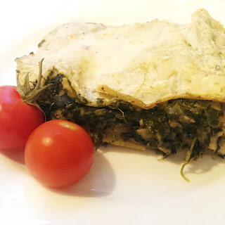 Spinach and Gorgonzola Lasagne