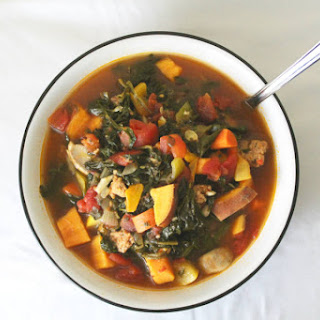 Hearty Veggie and Sausage Soup