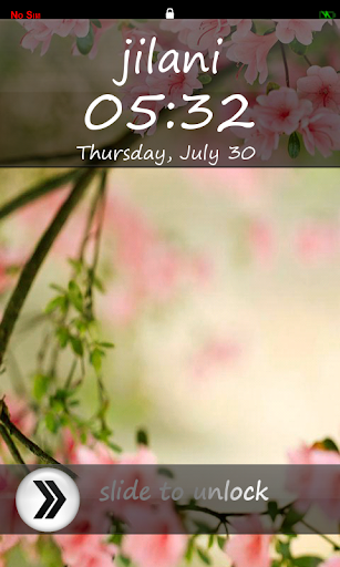 My Name Lock Screen