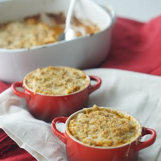 Cheesy Pumpkin Gluten Free Pasta Casserole