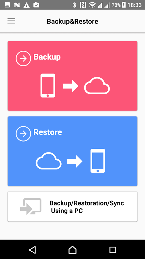 JS Backup – Restore & Migrate- screenshot