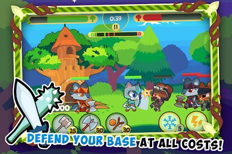 Tree Fortress 2 - Tower And Kingdom Defense Game screenshot