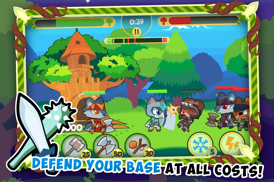 Tree Fortress 2 - Tower And Kingdom Defense Game- screenshot