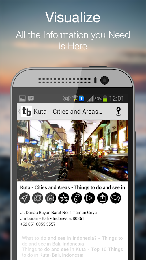 travelling BALI Holiday Apps- screenshot