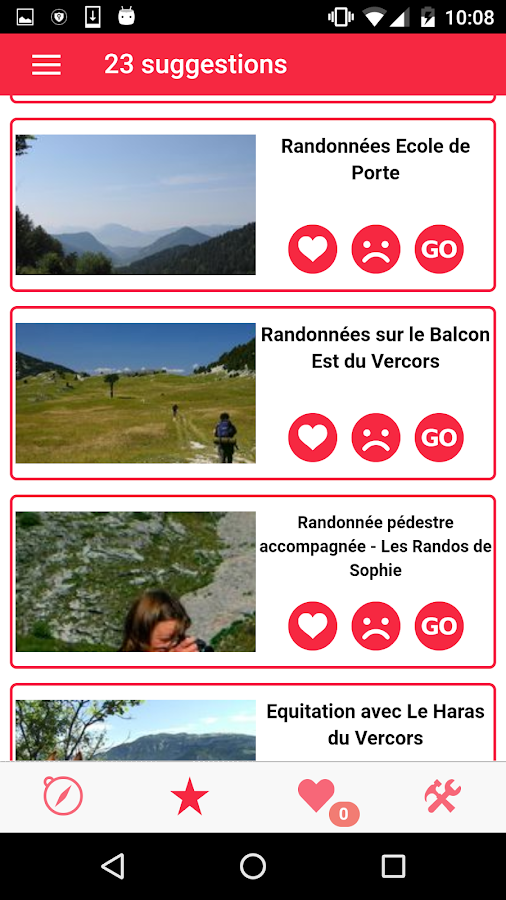 Tourisère- screenshot