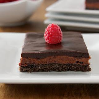 Raspberry French Silk Pie Bars Recipe
