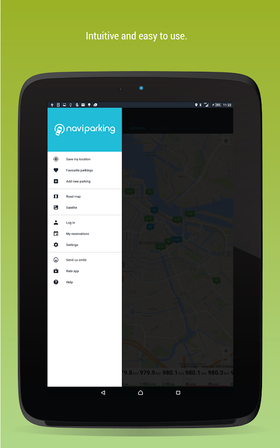 NaviParking - find car park- screenshot