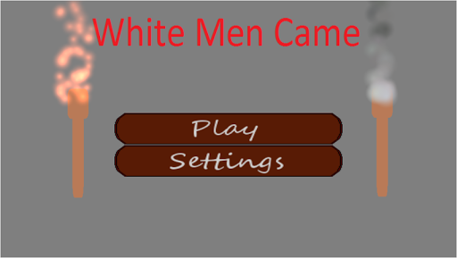 White Men Came