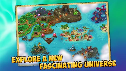 Booblyc TD - Cool Fantasy Tower Defense Game screenshots 4