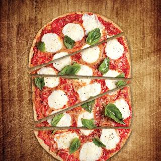 Tomato-Basil Flatbread Pizza