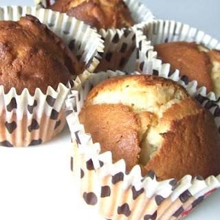 Banana and Ginger Muffins.