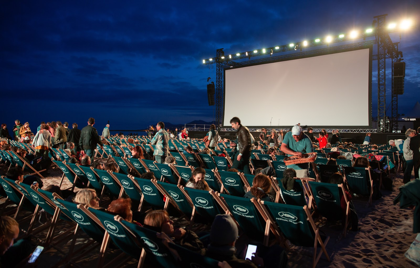 image of the movie on the beach