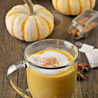 Pumpkin Chai Tea Latte.