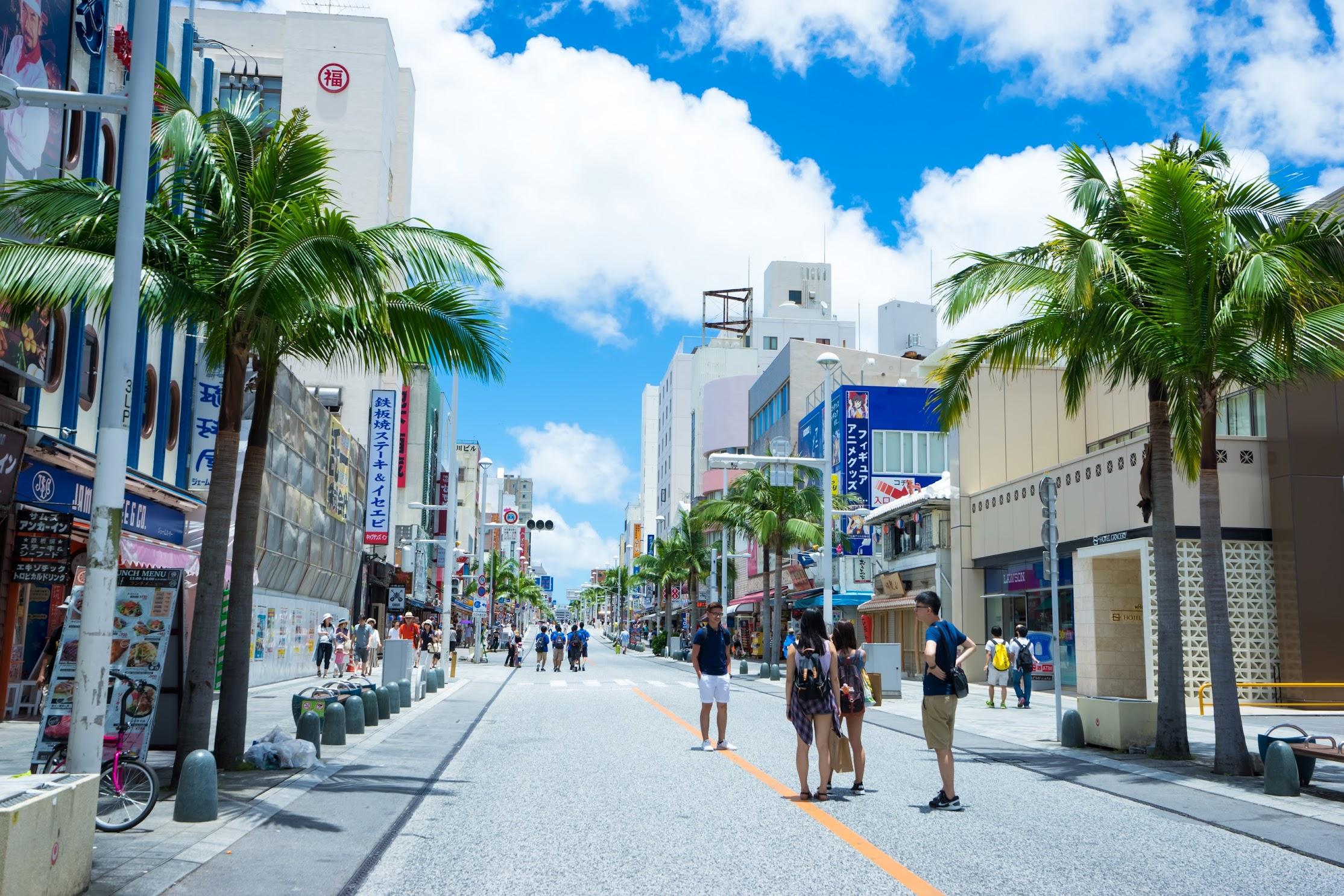 Okinawa Naha Kokusai street4