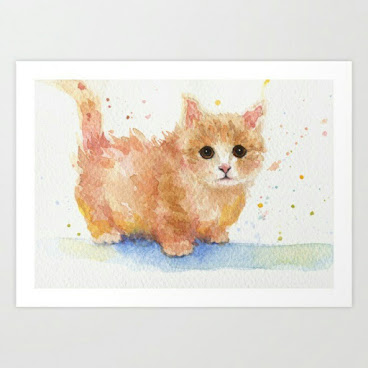 Cute Kitty Fine Art Print