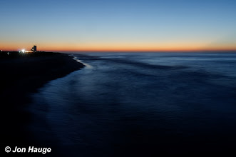 Photo: Dawn at Gulf Shores Beach as viewed from the Gulf State Park Pier on Monday, October 17,2011
