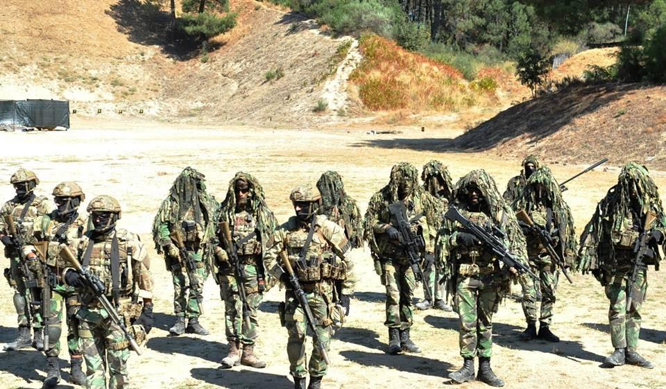 Exercício do Curso de Operações Especiais em Lamego