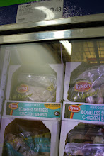 Photo: I like that all like items are grouped together. Frozen chicken breast was found on the meat isle. Today I was looking for quick and easy meals for the next couple of weeks.