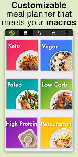 Strongr Fastr Workout, Meal and Diet Planner 1.5.6 screenshots 1