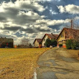 Vesnická ulice by Vláďa Lipina - City,  Street & Park  Street Scenes