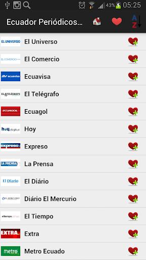 Ecuador Newspapers And News