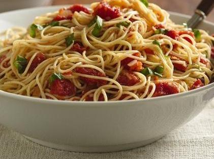 Angel Hair With Tomatoes & Basil Recipe