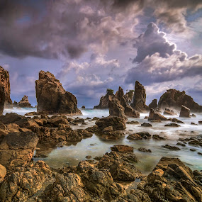 Gigi Hiu Beach, Lampung by Hery Sulistianto - Landscapes Beaches