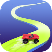 Crazy Road - Drift Racing Game