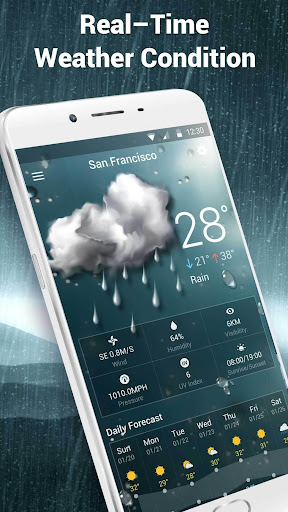Local Weather Widget&Forecast Screenshot