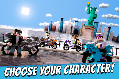 Blocky Motorbikes - Racing Competition Game - náhled