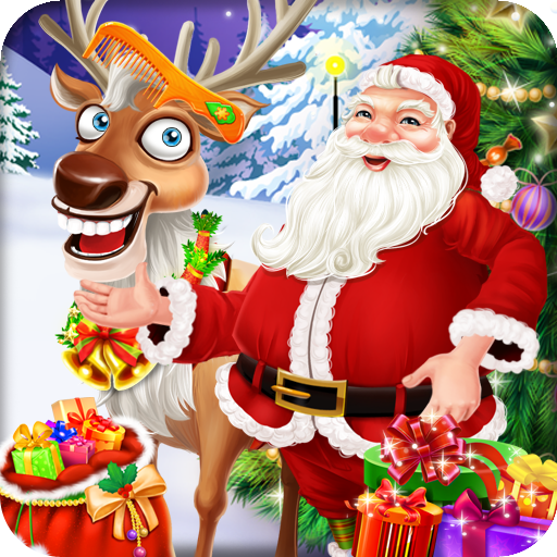 Christmas Santa Care Reindeer
