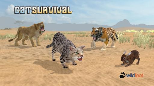 Cat Survival Simulator