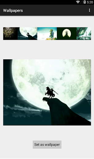 Wallpaper of Zelda for Android