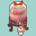 イチゴのドリンクサーバー