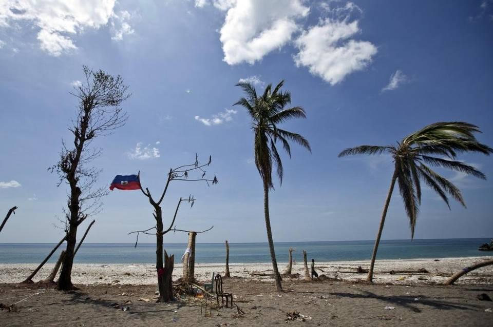 Port Salut, Haiti, on Oct. 9, 2016, after Hurricane Matthew.