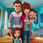 Virtual World Dad : Happy Family Simulator
