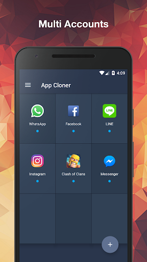 App Cloner u2764ufe0f Multiple accounts & Two face  screenshots 1