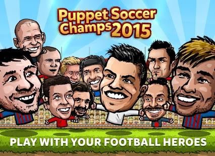 Puppet Soccer Champions 2015 1.0 APK