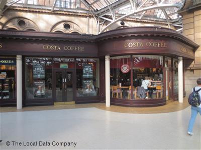 Costa On Gordon Street Coffee Shops In City Centre