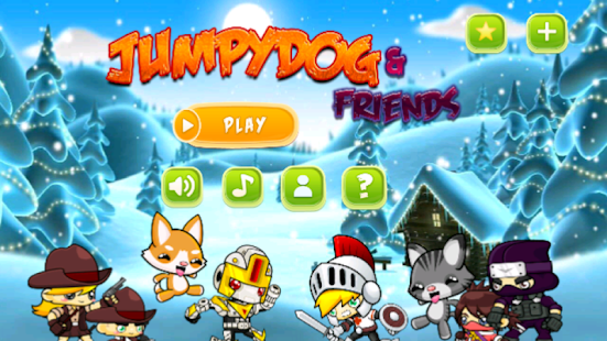 Run Rush - JumpyDog n Friends- screenshot thumbnail