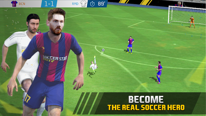 Soccer Star 2017 Top Leagues- screenshot