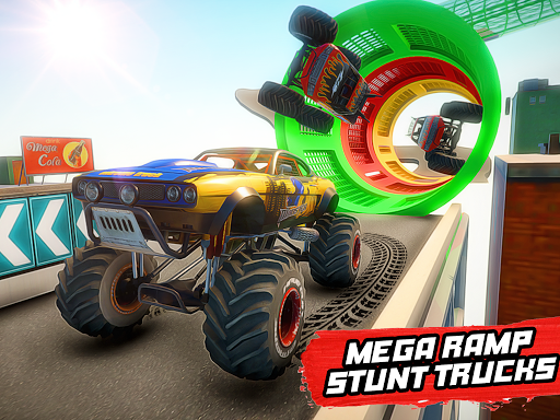 Mega Ramp Monster Truck Stunt Racing apkmr screenshots 5