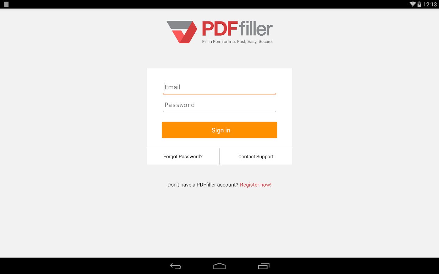 PDFfiller- screenshot