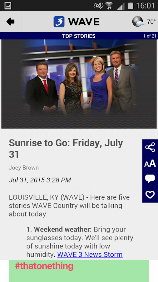 WAVE 3 News- screenshot