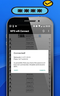 WPS wifi Connect: miniatura de captura de pantalla