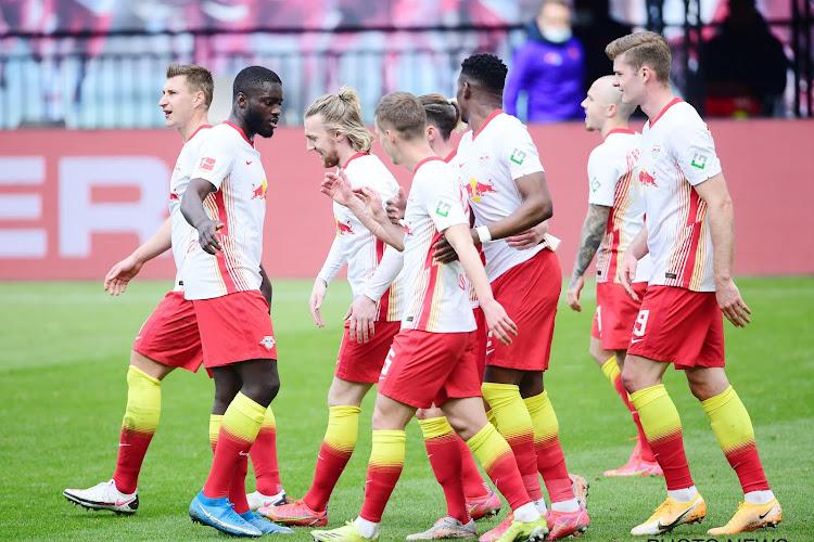 Le RB Leipzig privé de plusieurs cadres à la veille de la réception de Bruges