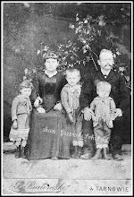 Photo: Rudnicka rodzina, zdjęcie z końca XIX wieku (z anonimowej kolekcji)