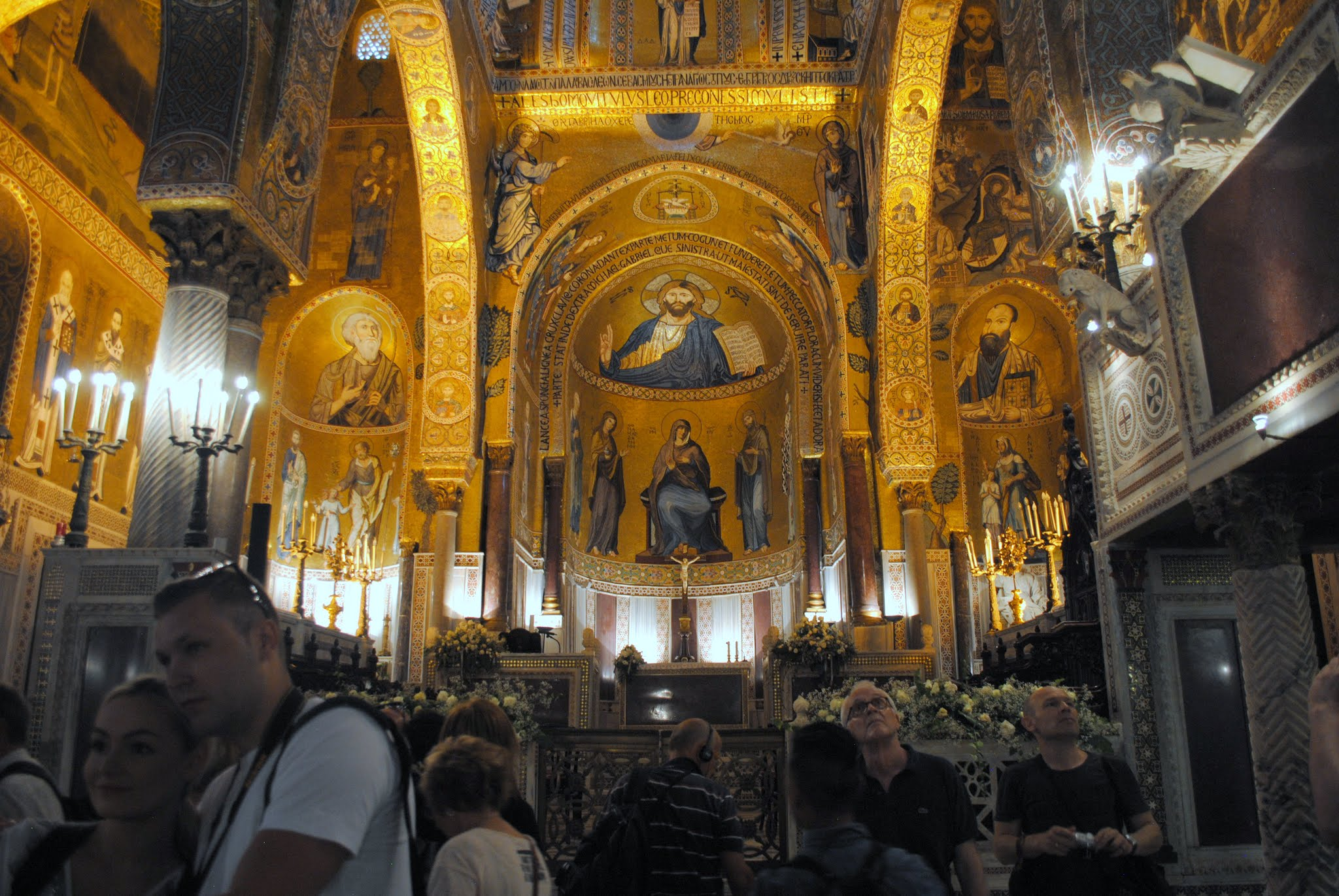 My Photos: Italy -- Sicily -- Palermo -- Cappella Palatina Interior Mosaics
