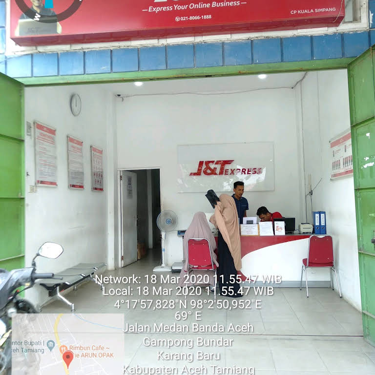 Kantor J T Kuala Simpang Jasa Pengiriman