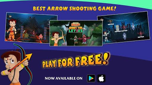 Chhota Bheem Shoot the Leyaks Game  screenshots 2